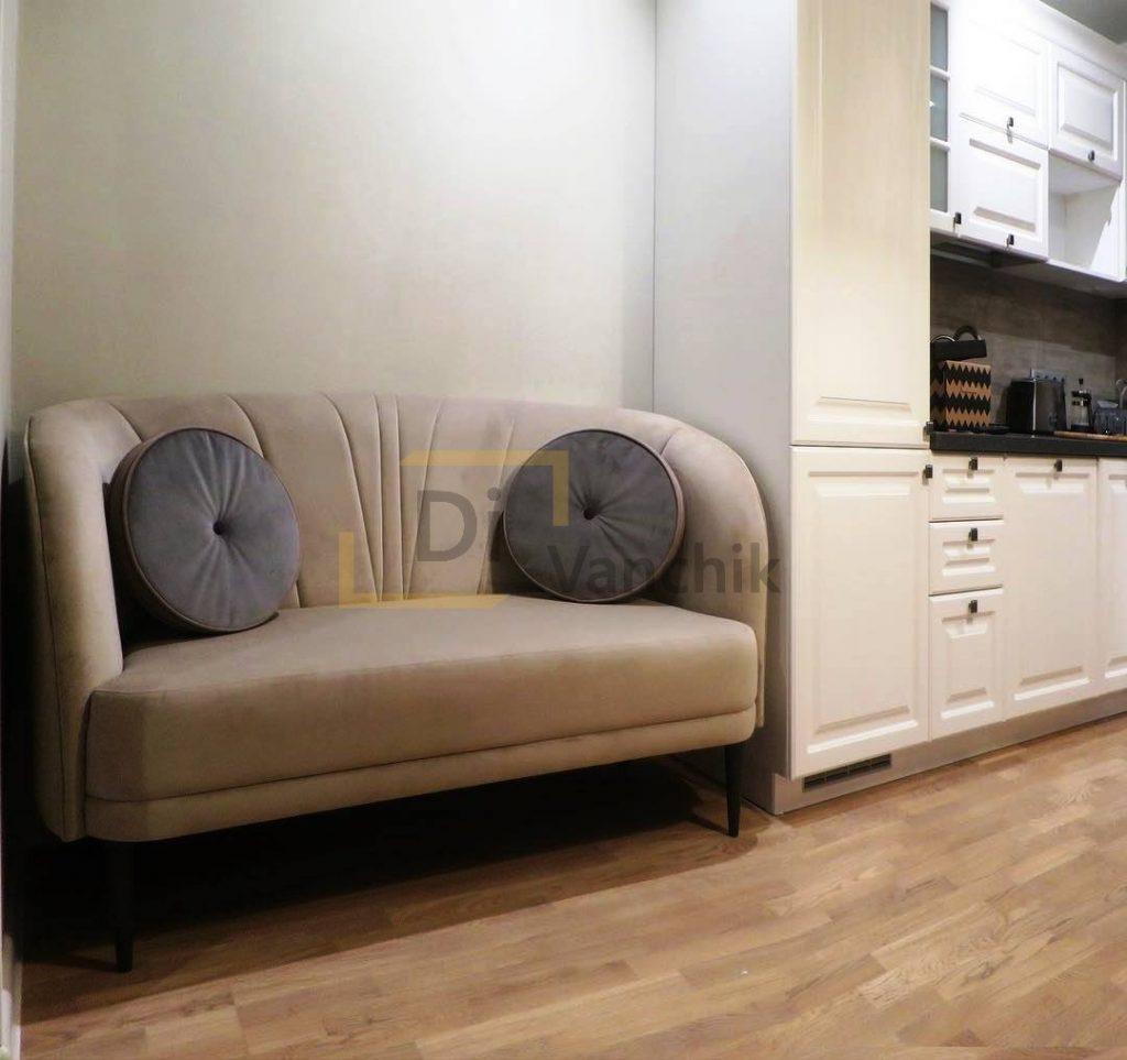 диван полукруг на кухню