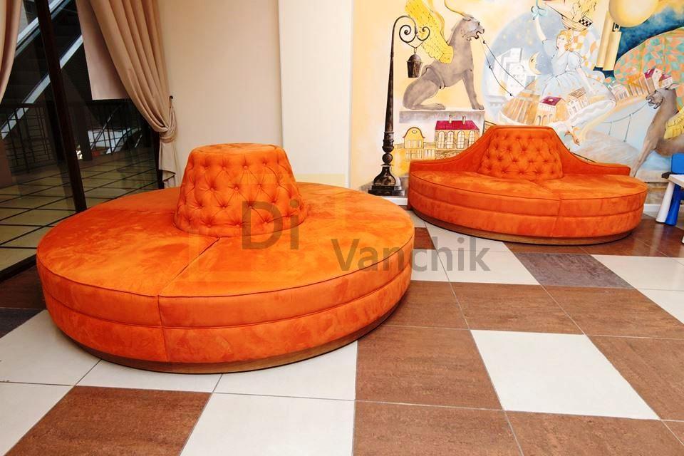 диванчики круглые под заказ