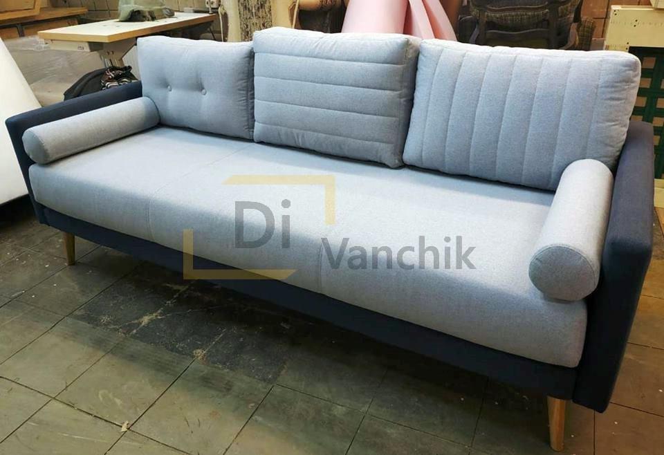 диван светло с серым прямой Киев