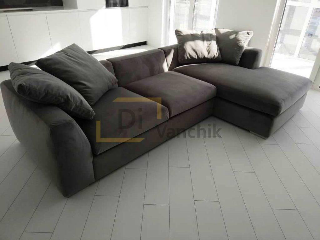 угловой диван для кухни 45
