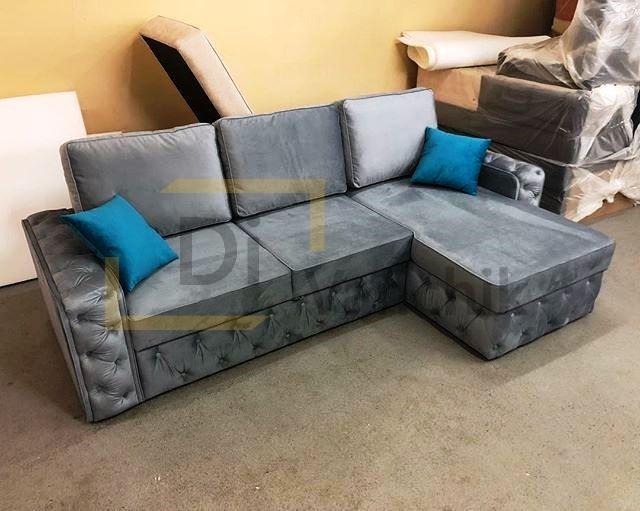 авторский угловой диван на заказ