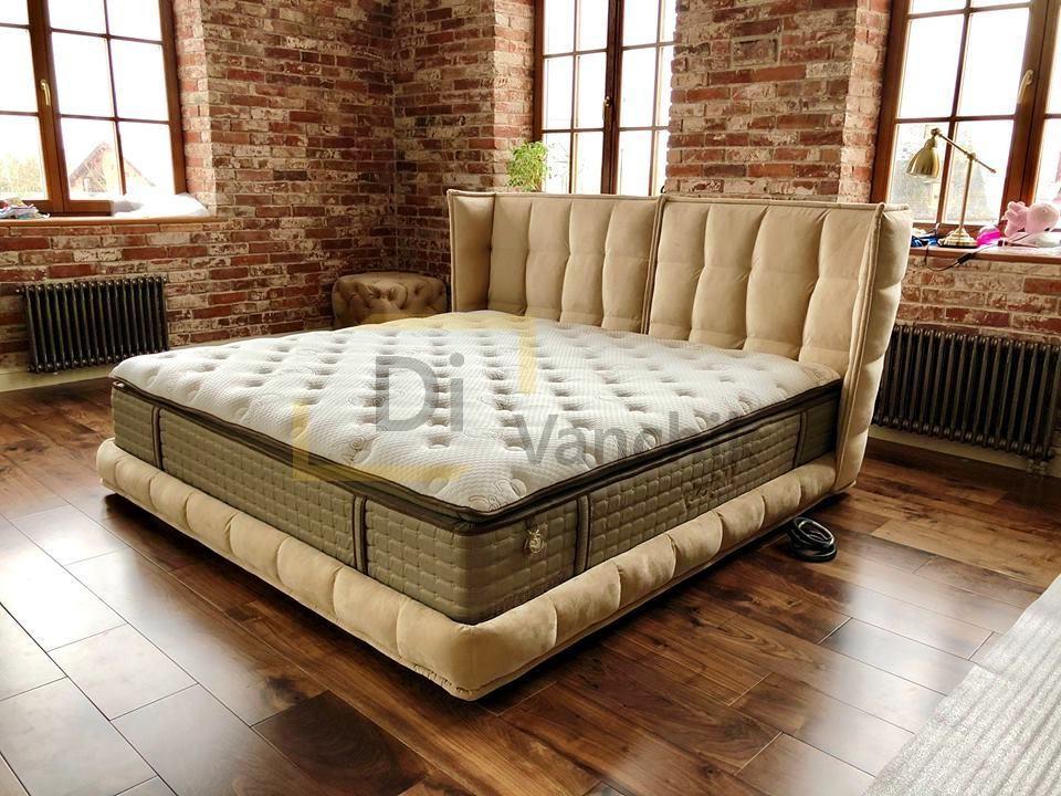 большая мягкая кровать на заказ в Киеве