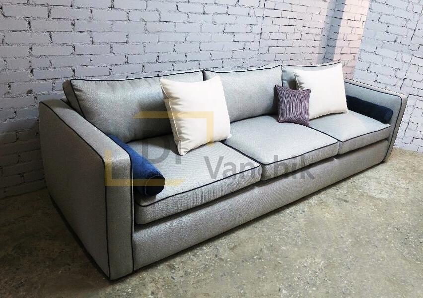 производство прямого дивана на заказ