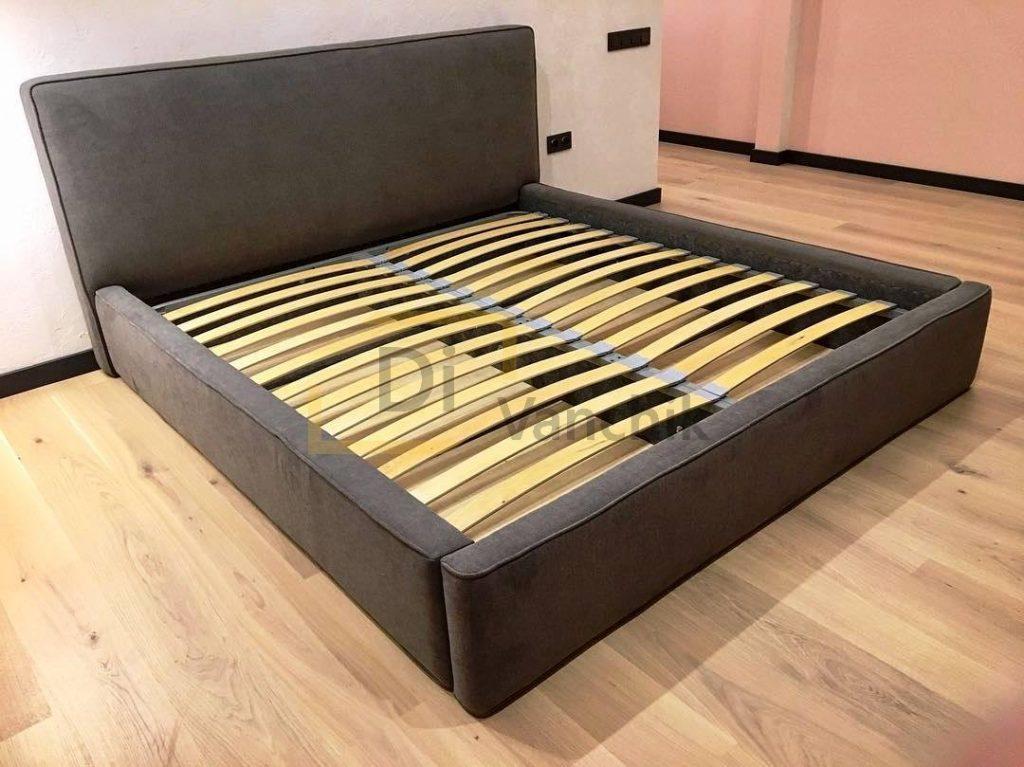темно серая кровать на заказ в Киеве