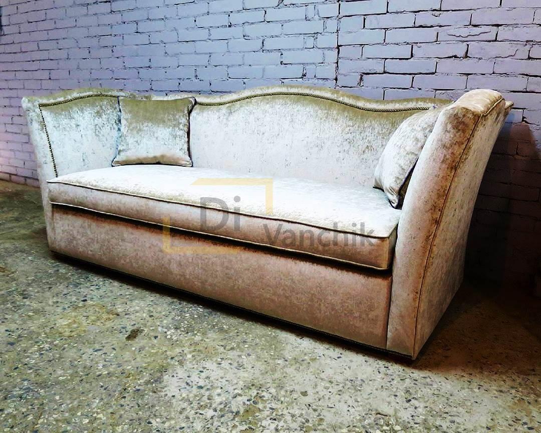 золотой прямой диван киев