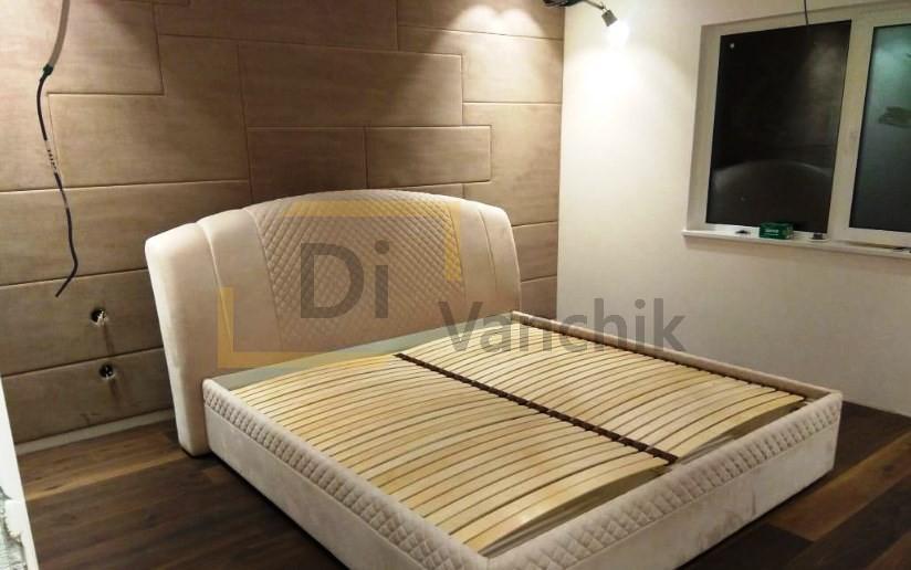 авторская мягкая кровать под заказ