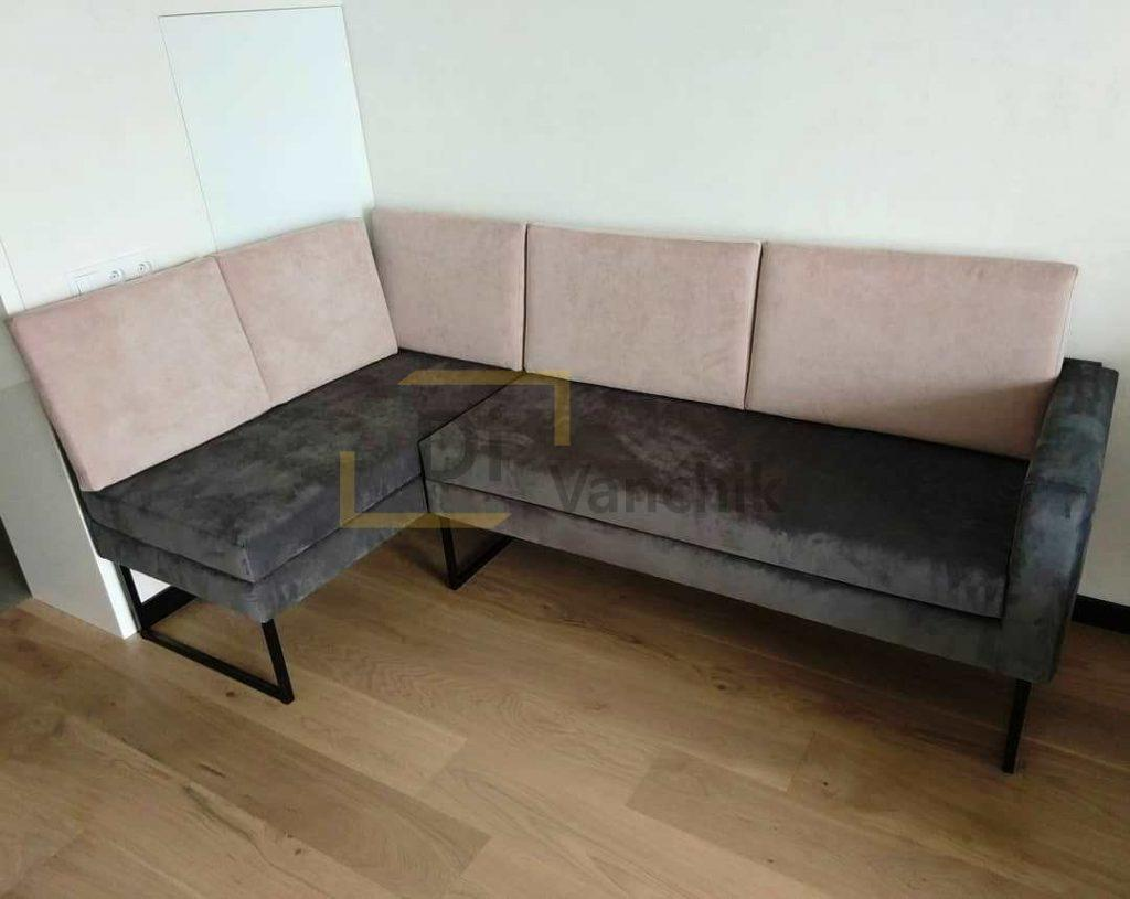 диван лавка мягкий на кухню