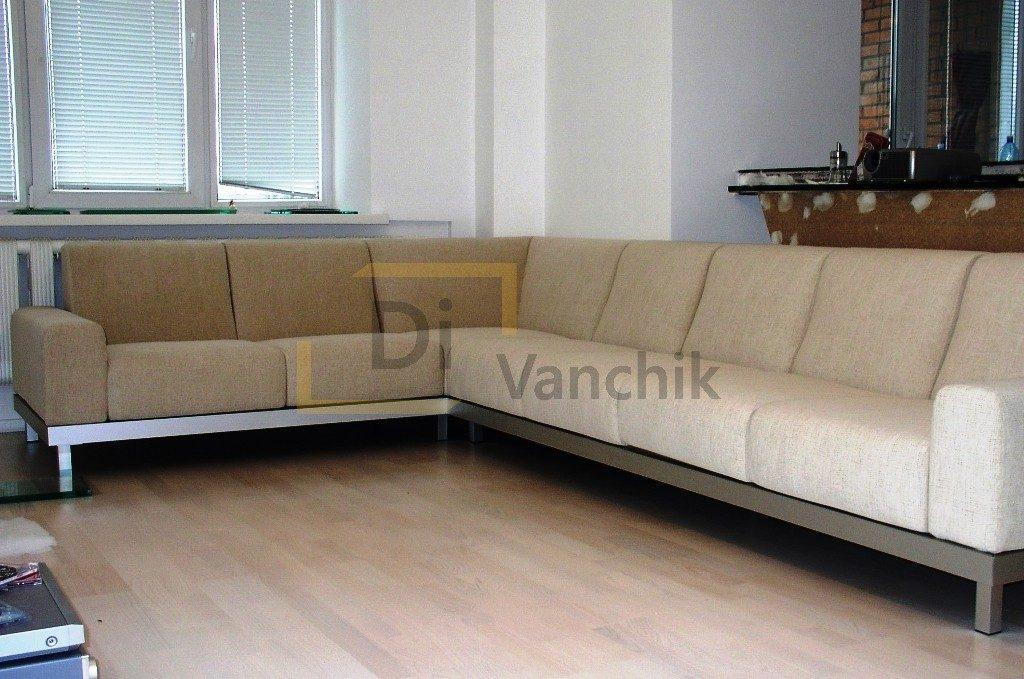 светлый угловой диван заказать