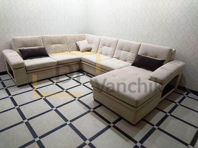 продажа п образного дивана на заказ