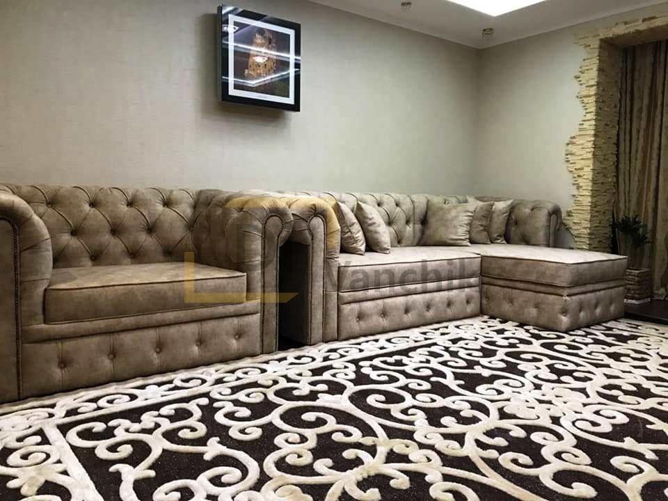 заказать мягкий угловой диван