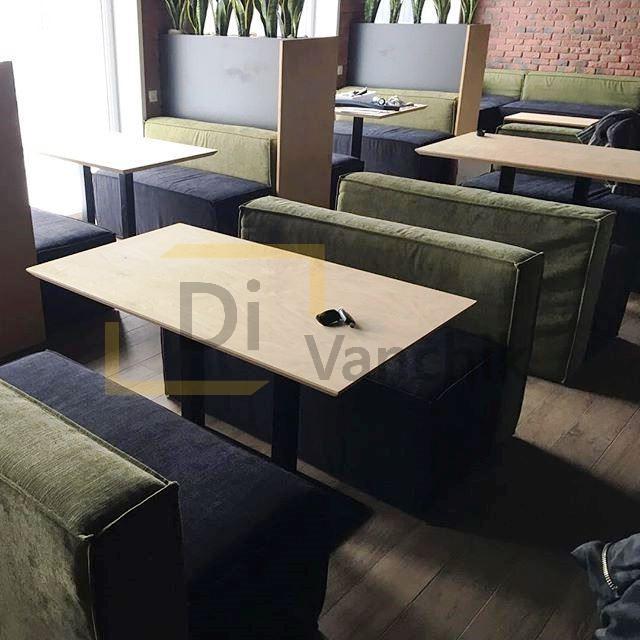 мягкая мебель для бара под заказ