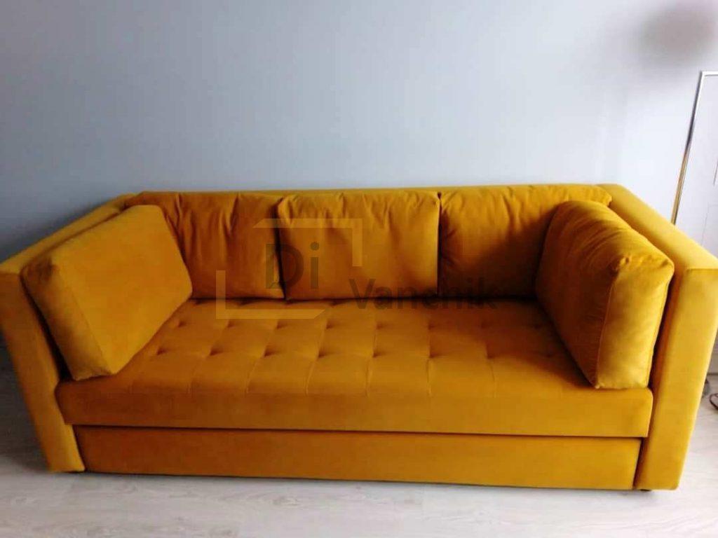 заказать желтый диван на заказ