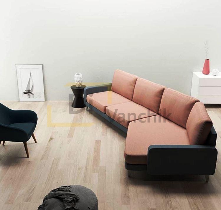 диван с углом комбинированный