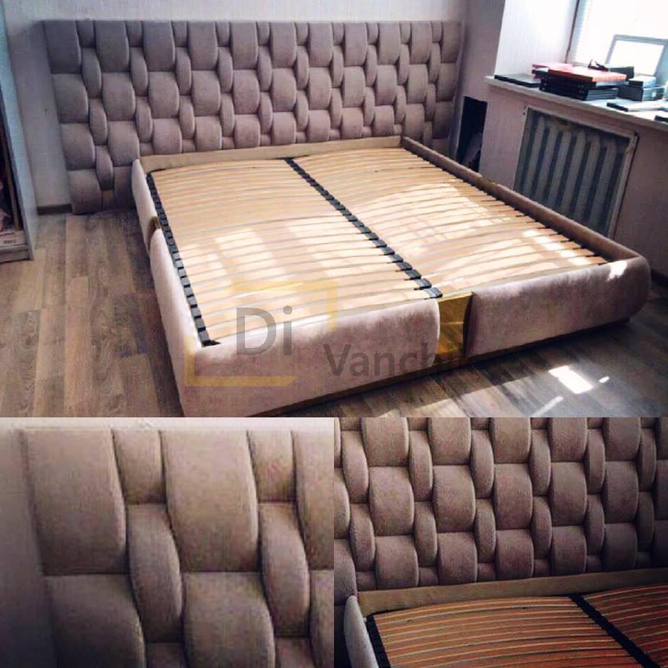 мягкая кровать на заказ3