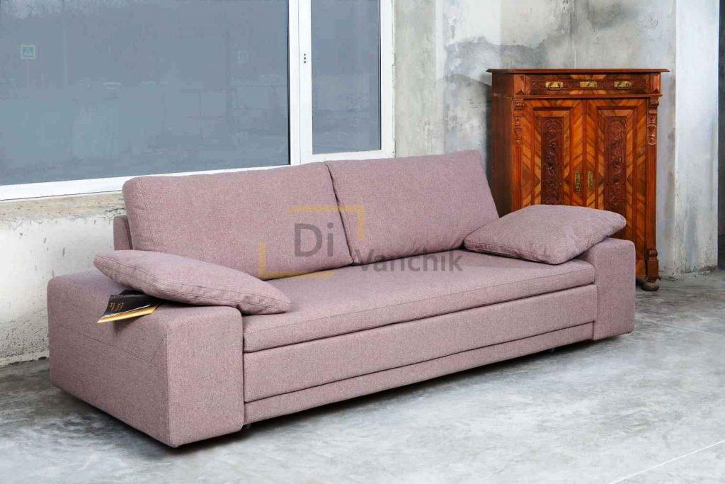 изготовление розового диванчика