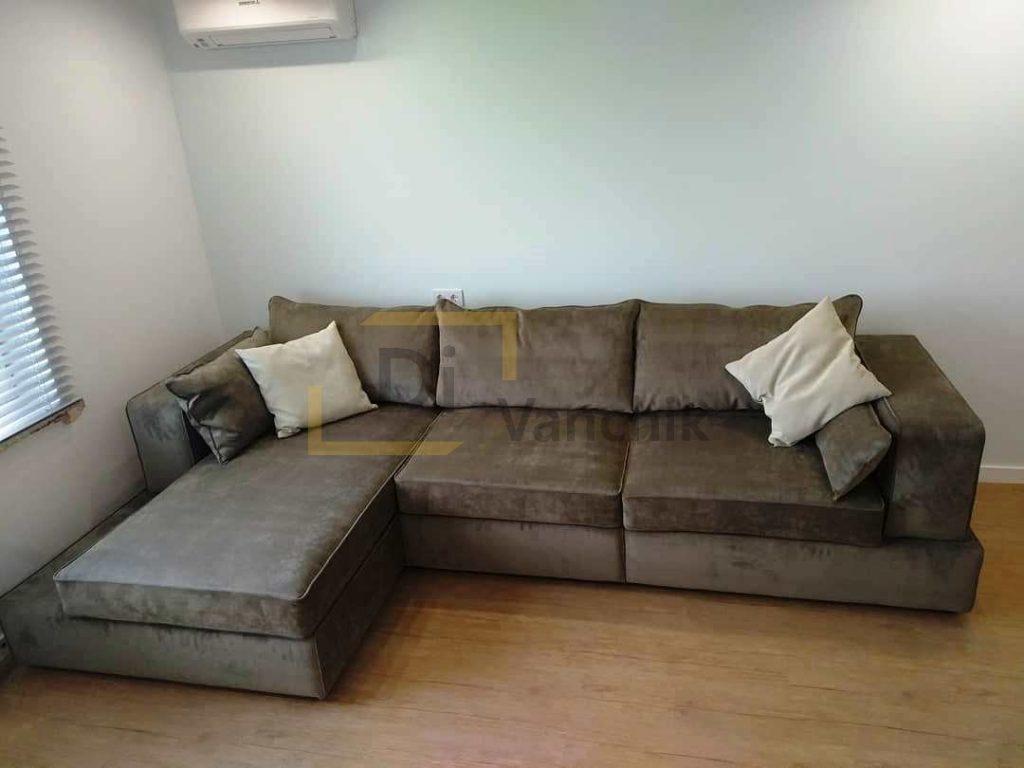 коричневый угловой диван в киеве на заказ