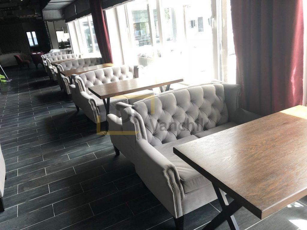 мягкие диваны для кафе на заказ