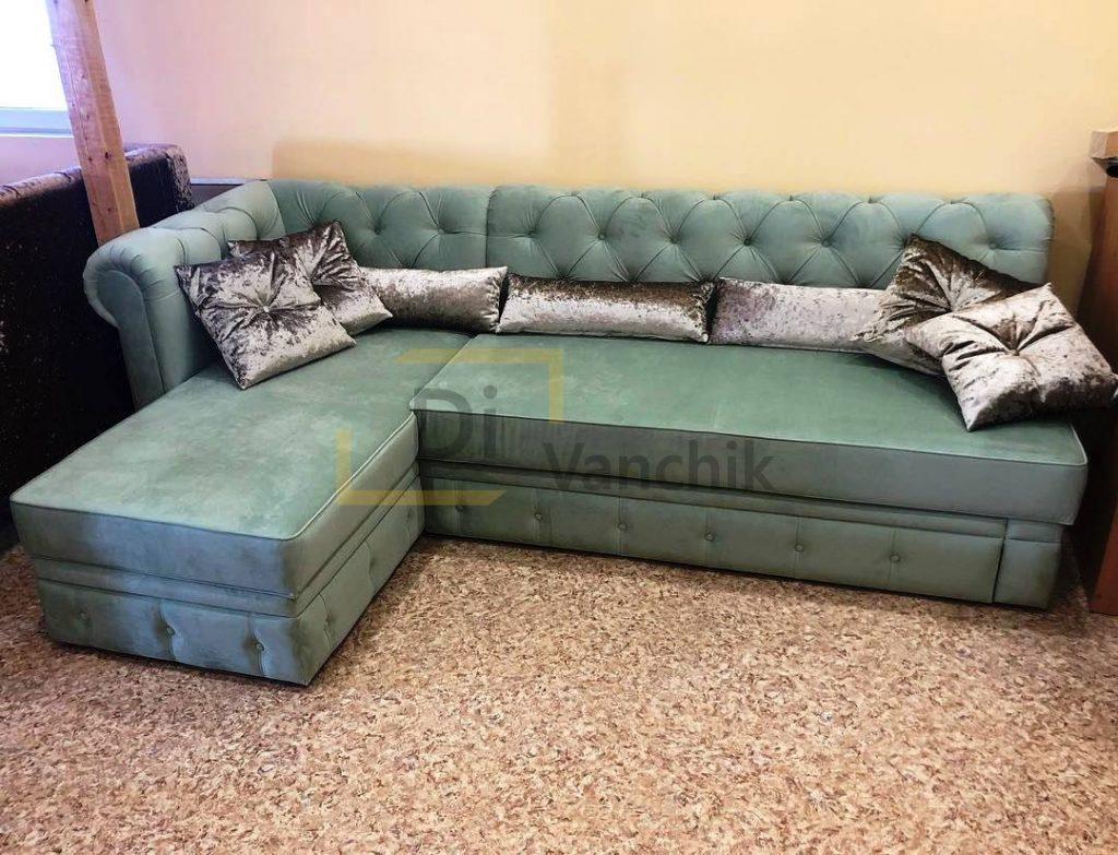 угловой диван в пиковке 34к