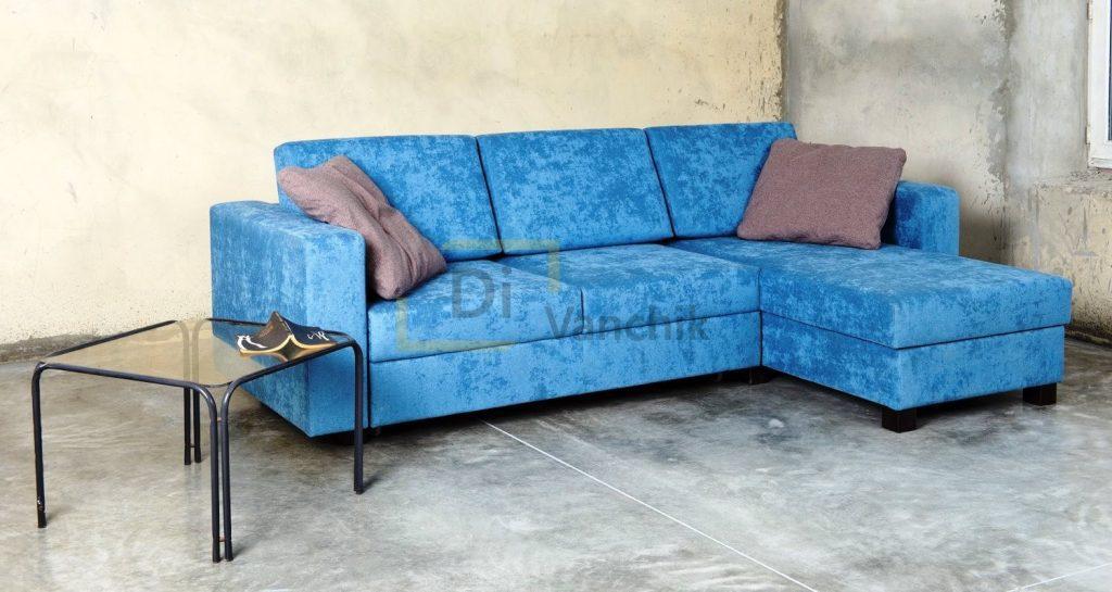 диван углом синий под заказ Киев