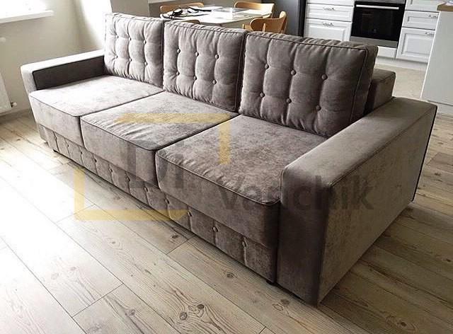 диван прямой на кухню изготовление1