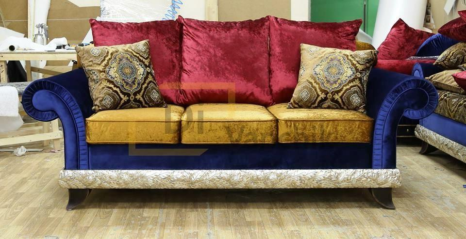 диван в цыганском стиле