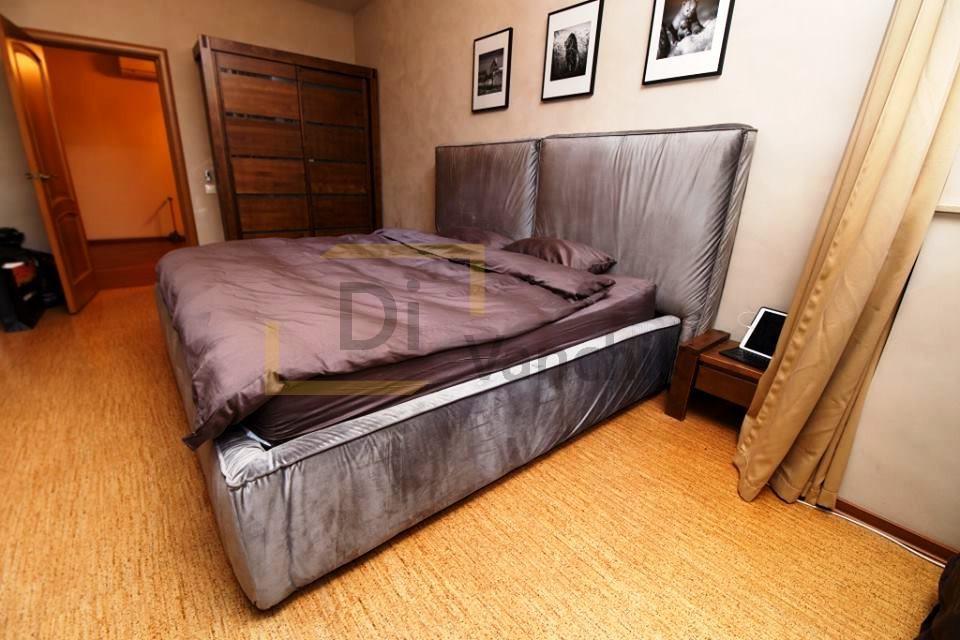 кровать мягкая велюр на заказ