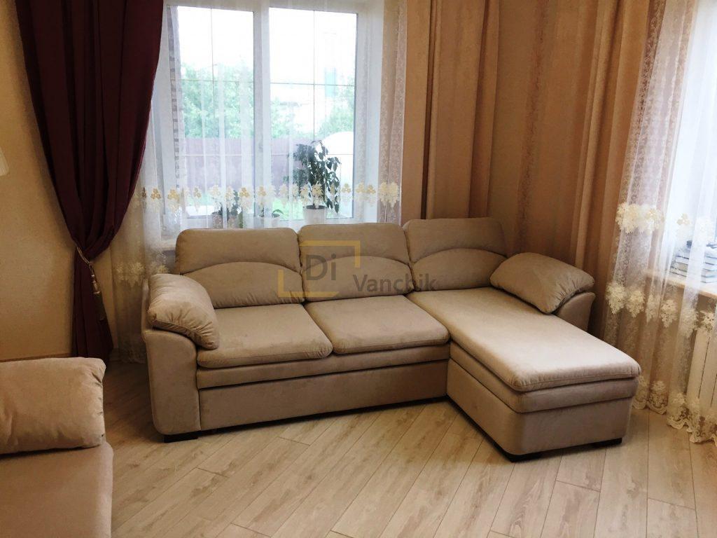 угловой диван на заказ для квартиры