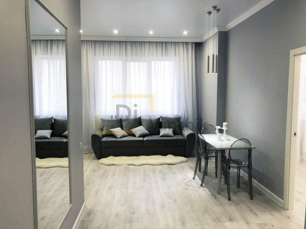 серый кухонный диван заказать в Киеве
