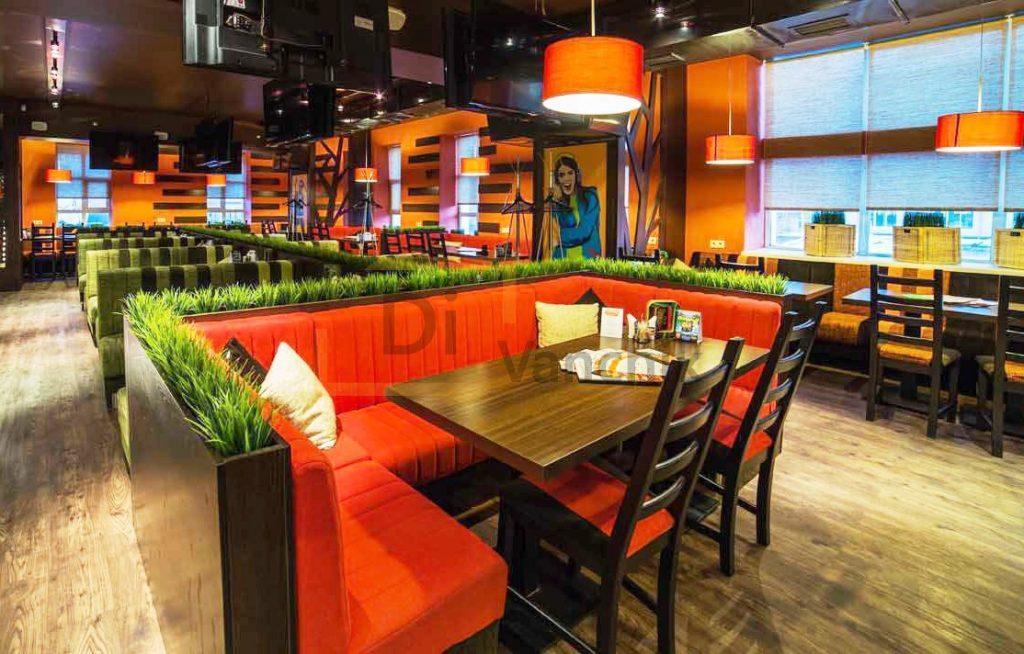 диваны в стиле хай тек для ресторана
