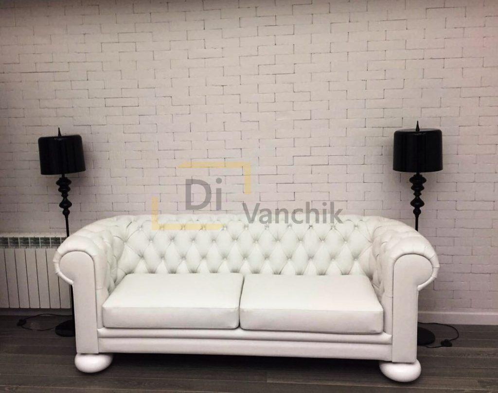 белый классический диванчик в Киеве заказать