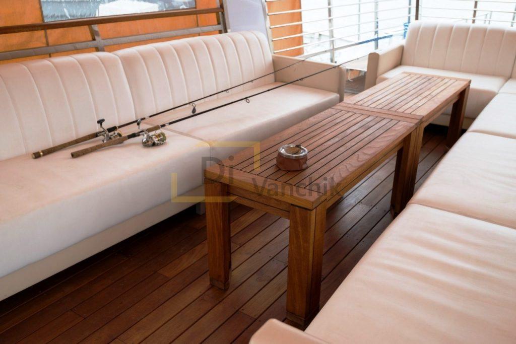 мягкая мебель на яхту заказать 24