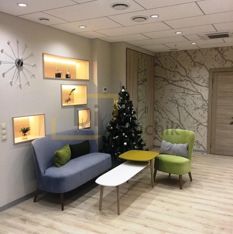 красивая мягкая мебель для офиса