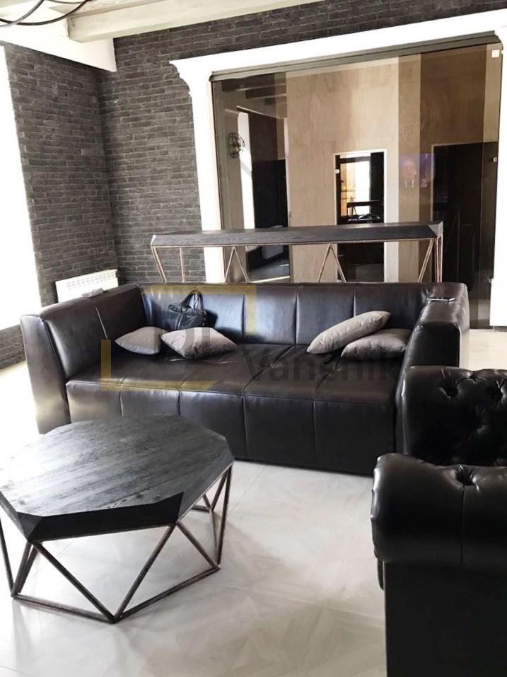 Кожаный диван для кухни Бровары