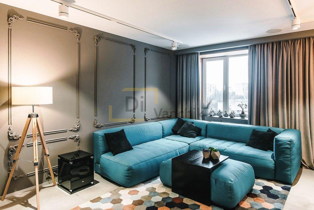 уловой диван с пуфом приставным шулявка