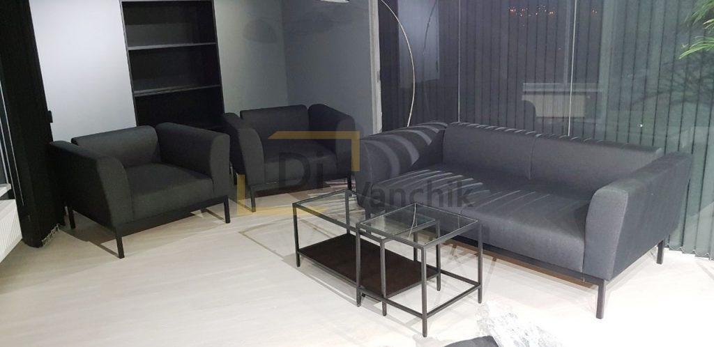 диван и кресла в офис для встреч