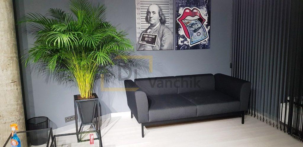 офисный вариант дивана под заказ