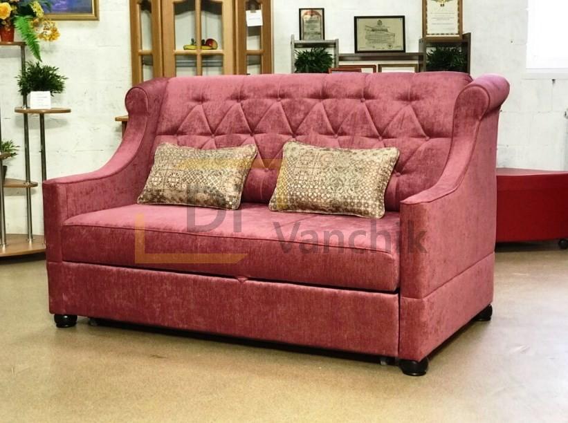 розовый диван кловская
