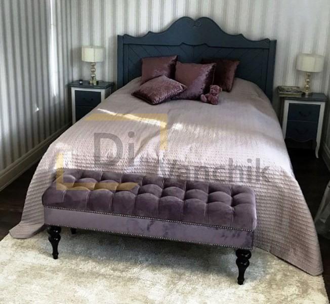 мягкая кровать с банкеткой от производитля В Киеве