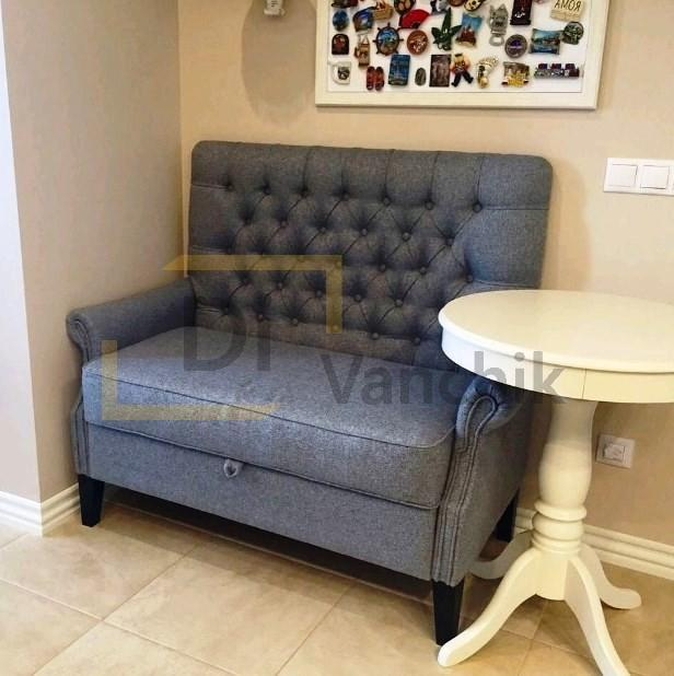 серый диван на кухню оболонь