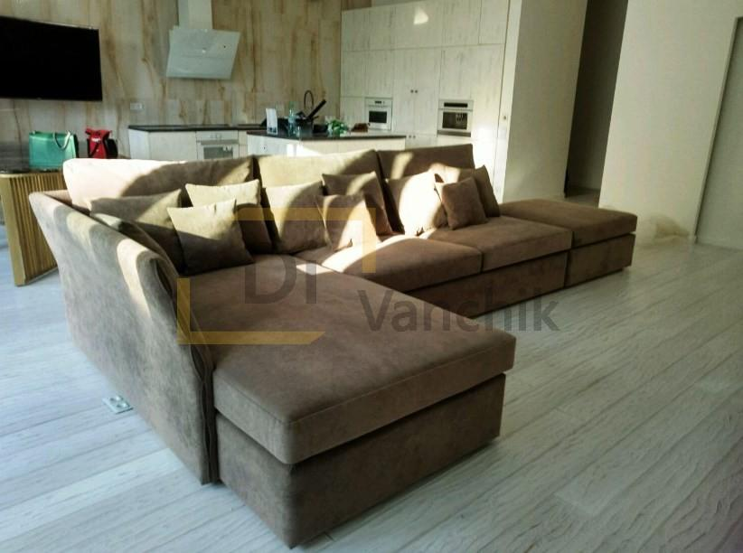 диван раскладной на кухню на заказ