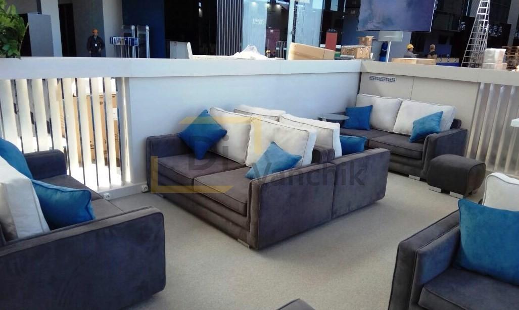 мягкая мебель в кафе на заказ Киев