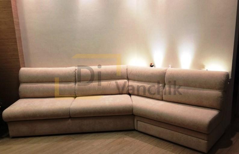 диван эркерный под стену